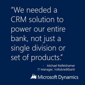 Banks put customers first with Microsoft Dynamics CRM