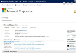 Dynamics CRM release adds social capabilities