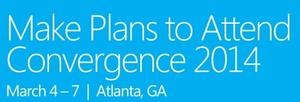 Early Registration Is Now Open for Convergence 2014!