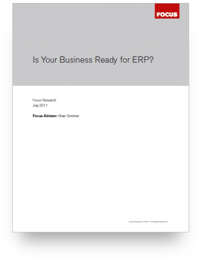 Is Your Business Ready for ERP - Landing Page Image