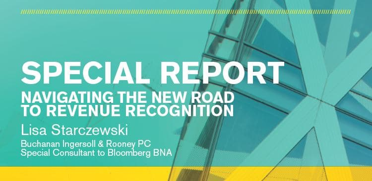 Navigating the New Road to Revenue Recognition