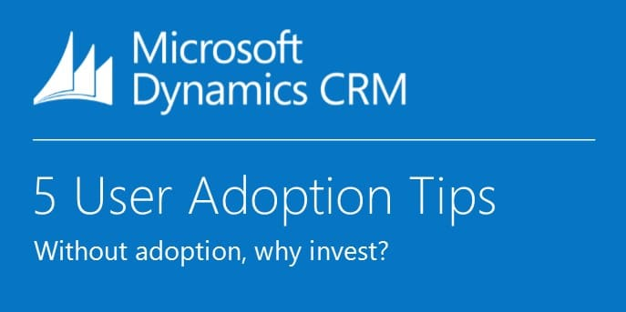 CRM 5 User Adoption Tips (twitter image tti)
