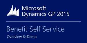 Microsoft Dynamics GP 2015 Benefit Self Service – Demo & Overview