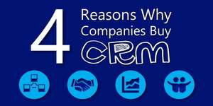 The 4 Most Compelling Reasons Why Companies Purchase CRM