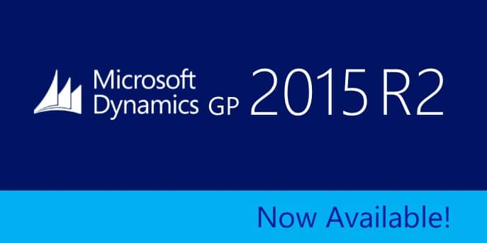 GP 2015 R2 Now Available