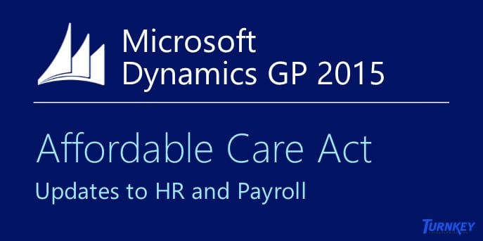 Microsoft Dynamics GP and the Affordable Care Act (Twitter image)