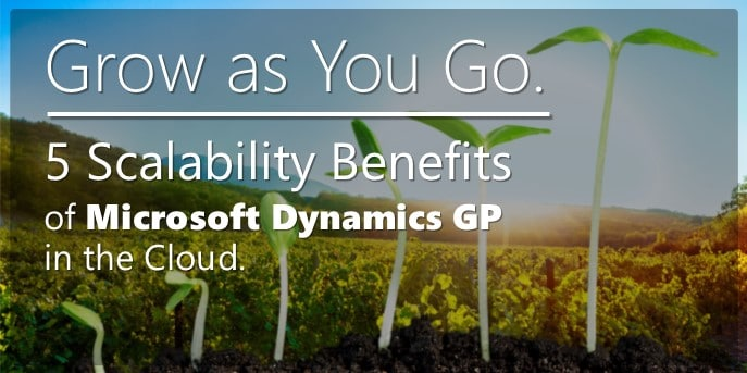 scalability benefits of microsoft dynamics gp in the cloud