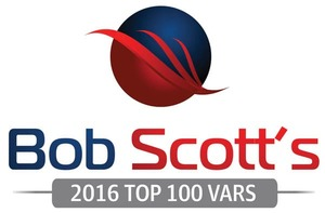 Turnkey Technologies named to the Bob Scott's Top 100 VARs for 2016!