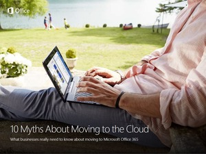 10 Myths About Moving to the Cloud (Landing Page image)