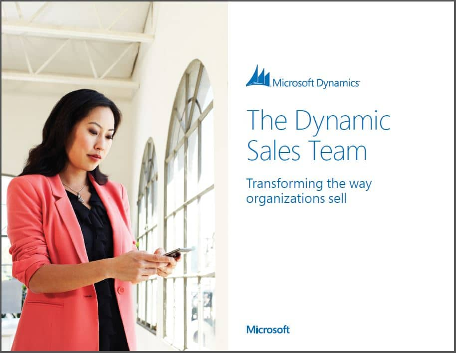 Microsoft Dynamics CRM - The Dynamic Sales Team