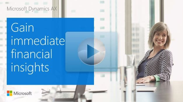 Dynamics 365 for Operations (AX) - Guided Tour Finance image