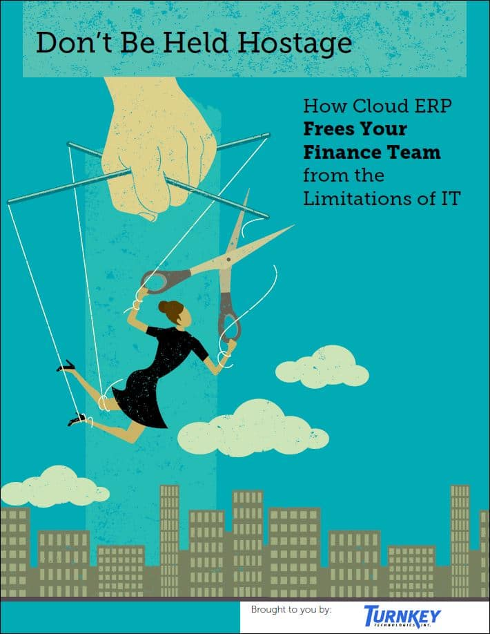 cloud erp software provider white paper - don't be held hostage by IT