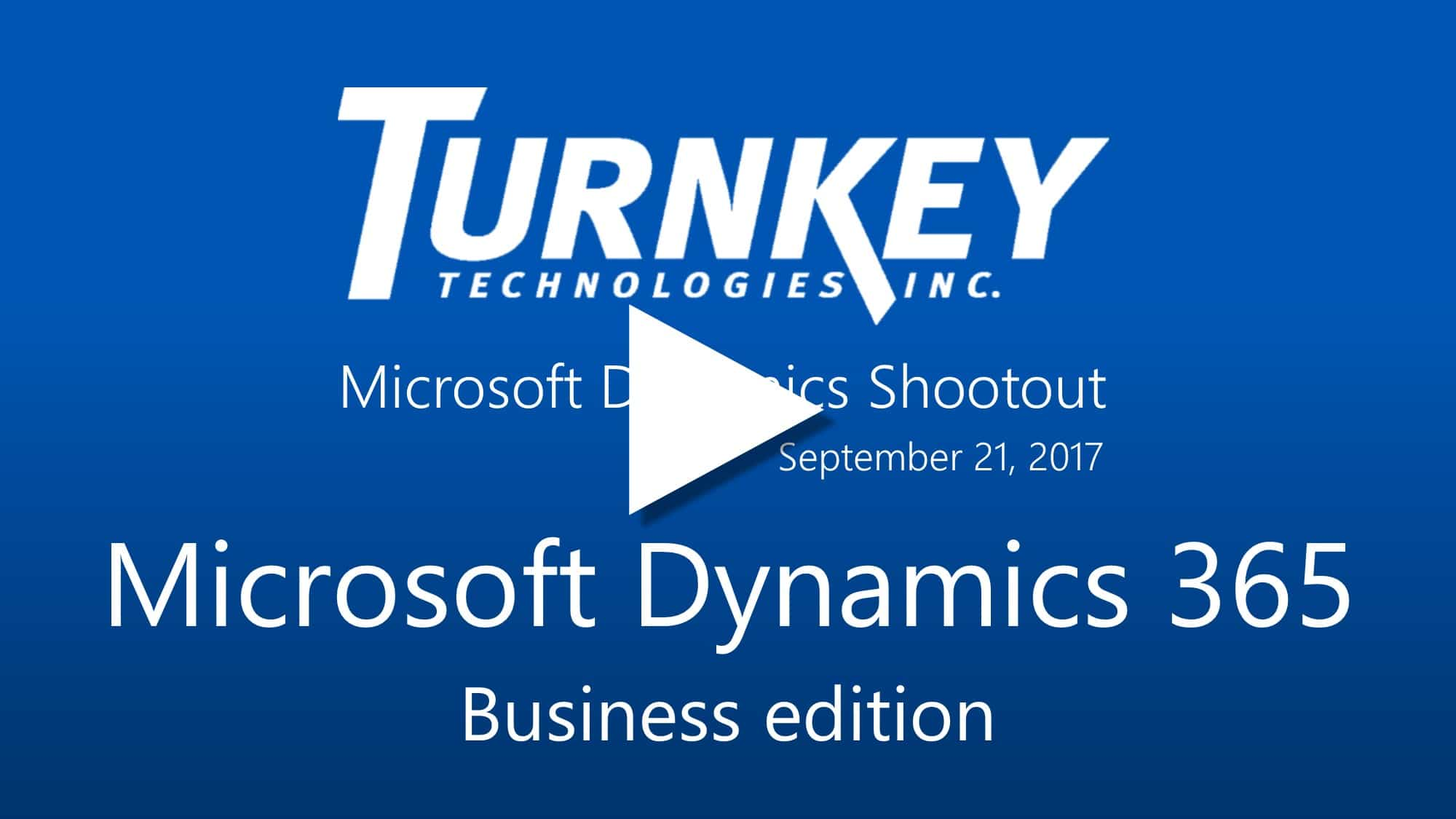 Compare Microsoft Dynamics Business Solutions - Dynamics 365 Business edition