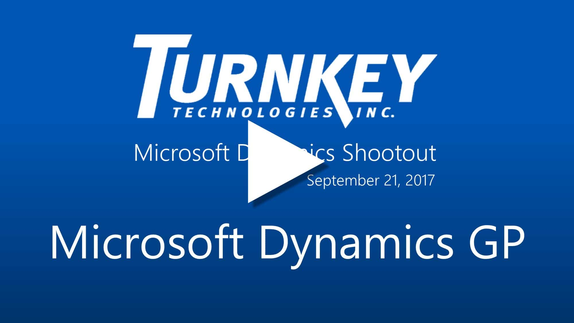 Compare Microsoft Dynamics Business Solutions - Dynamics GP