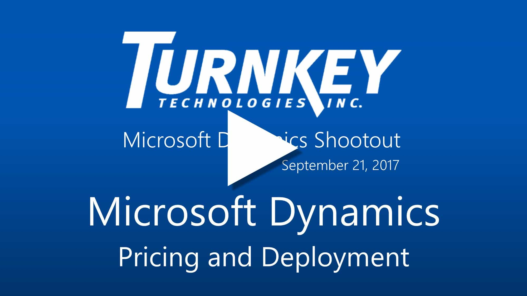 Compare Microsoft Dynamics Business Solutions - Pricing and Deployment Options