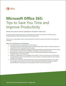 Office 365 - 15 Tips