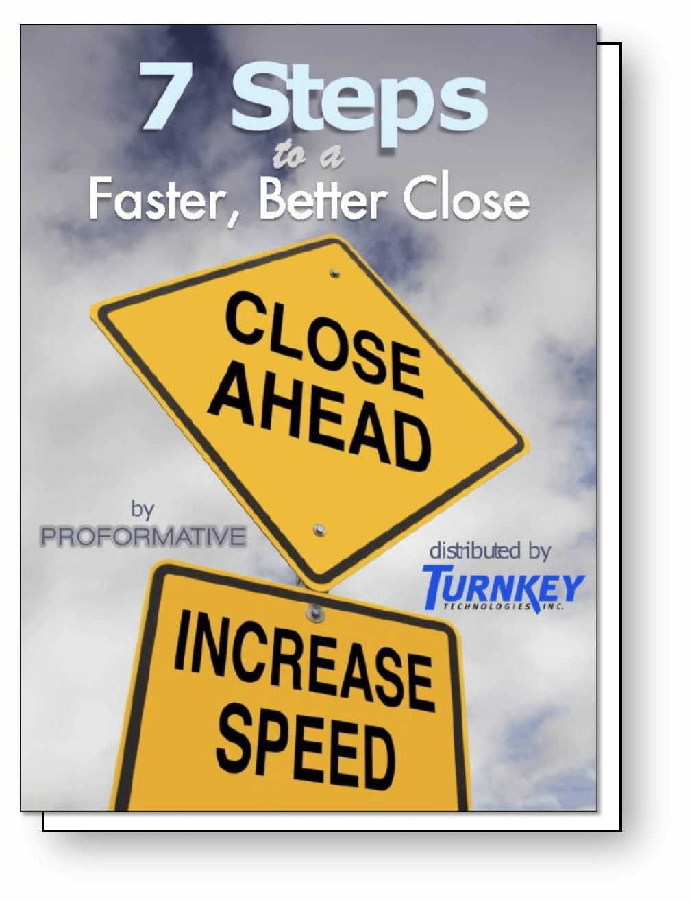 7 Steps to a Faster Close