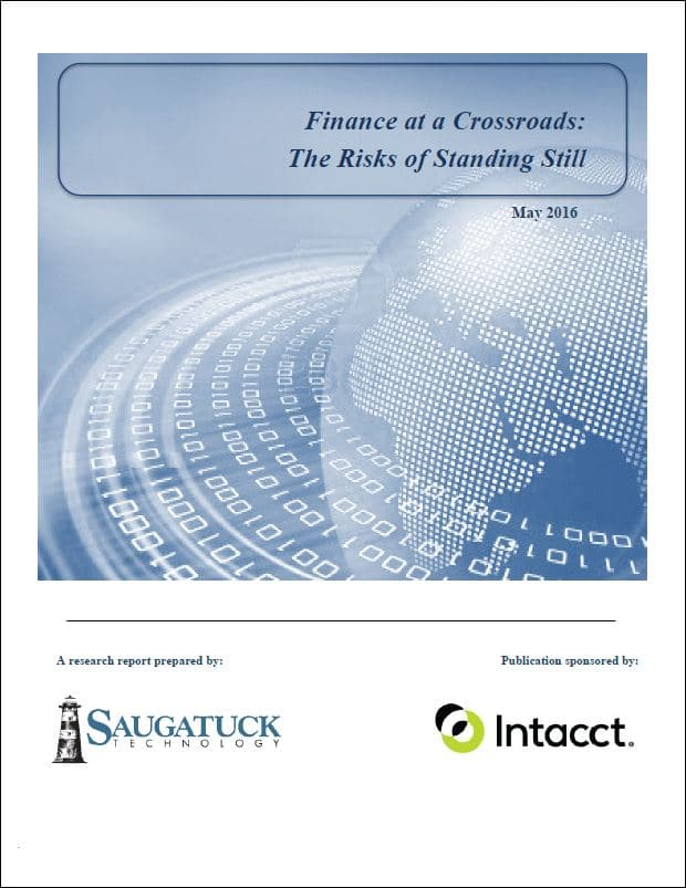 Sage Intacct - Finance at a Crossroads
