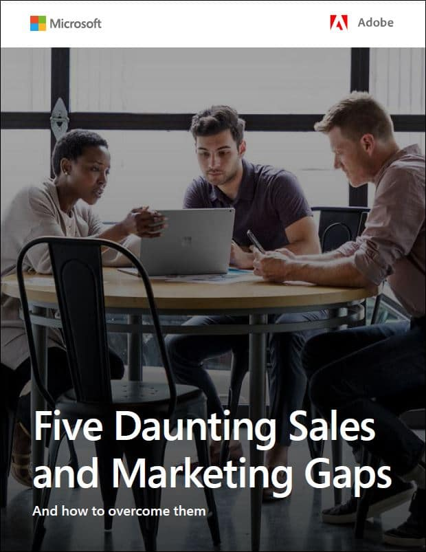 5 daunting sales and marketing gaps