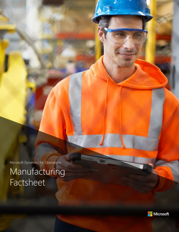 Dynamics 365 for Manufacturing - Cover Image