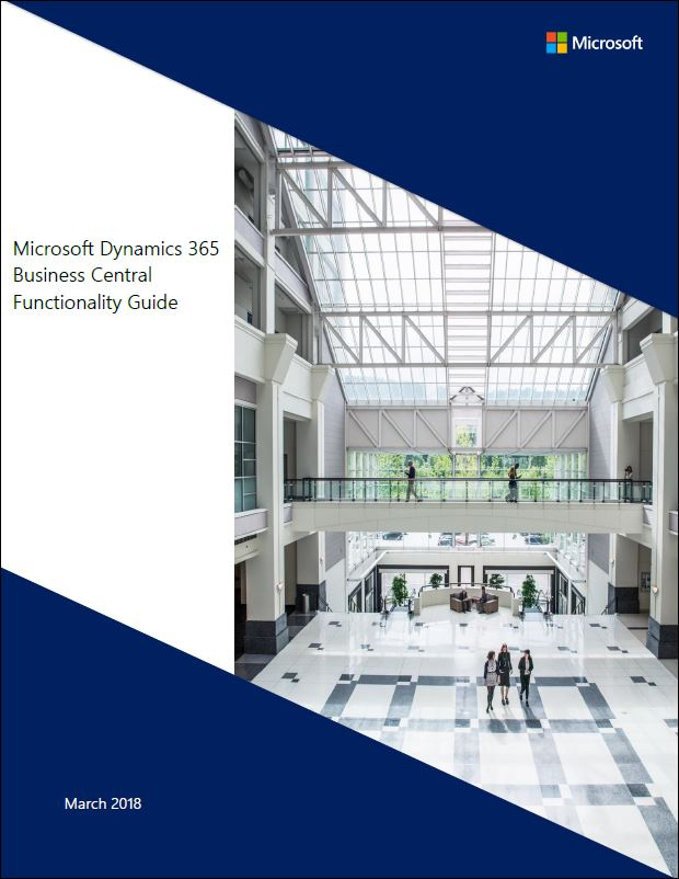 Microsoft Dynamics 365 Business Central Functionality Guide