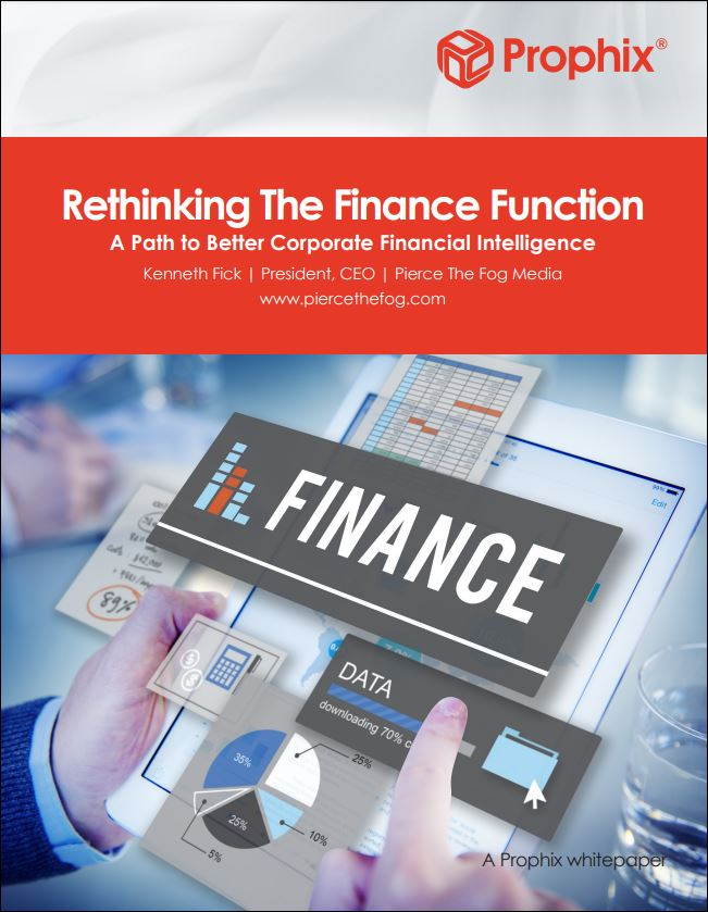 Rethinking the Finance Function