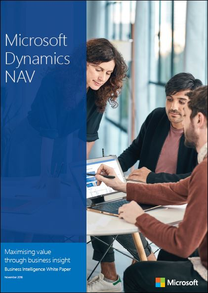 Microsoft Dynamics NAV Business Intelligence