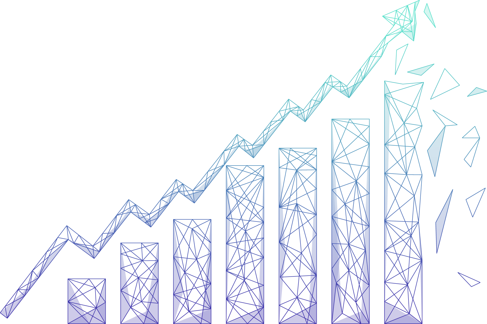 ROI Chart Gradient png