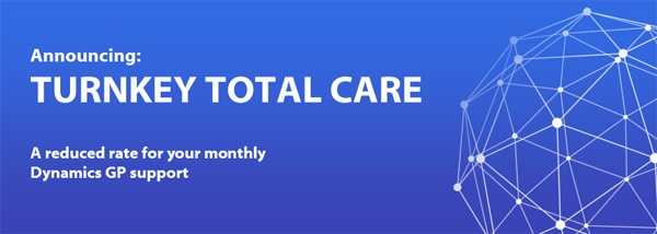 Turnkey Total Care for Microsoft Dynamics GP